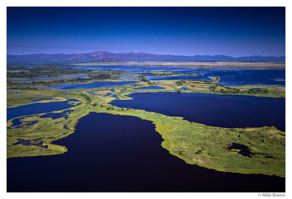 Aerial view of the northern pantanal